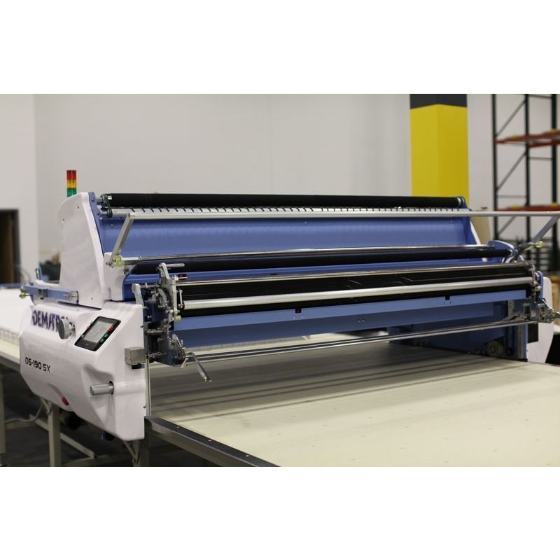 Dematron D5-190SX Automatic Fabric Spreading Machine Technology