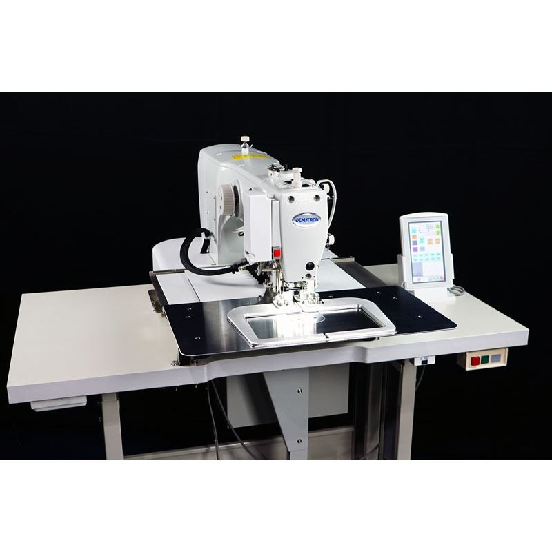 DEMATRON DM-2212 CNC PROGRAMMABLE PATTERN SEWING MACHINE